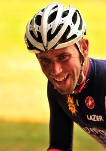Matt after a tough race at the Grand Prix Molly Cameron #1